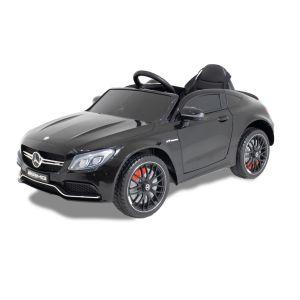 Mercedes elektrische kinderauto C63 AMG zwart
