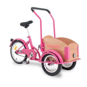 Kijana bakfiets mini - roze