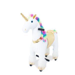 Kijana rijdendpaard regenboog groot prijstechnisch autovoorkinderen