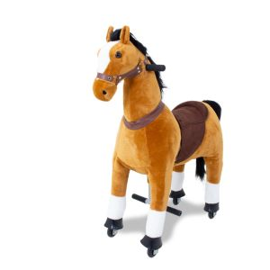 Rijdend kinderpaard bruin