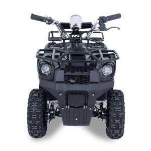 Elektrische quad Monster 1000W 36V prijstechnisch autovoorkinderen vooraanzicht voorrek stuur banden voorlichten