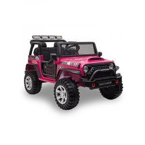 Kijana Jeep elektrische kinderauto roze