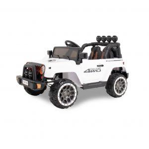 Kijana elektrische kinderauto Jeep wit