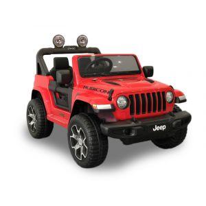 Jeep elektrische kinderauto Wrangler rood