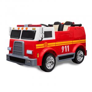 Kijana elektrische brandweerauto 2-zits