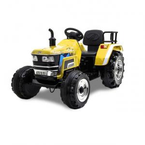 Kijana elektrische tractor geel 12V