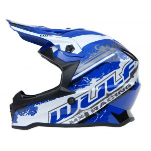 Wulfsport kinderhelm Junior Cub Off Road Pro - blauw