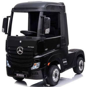 Mercedes elektrische kindervrachtwagen Actros zwart
