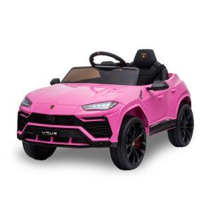Lamborghini elektrische kinderauto Urus roze