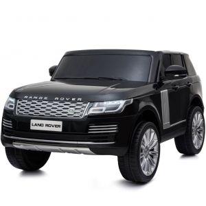 Range Rover elektrische kinderauto 2 zits zwart