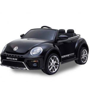 VW elektrische kinderauto Dune Beetle zwart