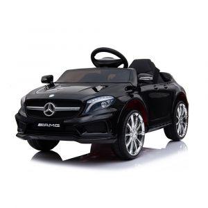 Mercedes elektrische kinderauto GLA45 AMG wit