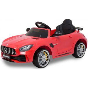 Mercedes elektrische kinderauto GTR AMG rood
