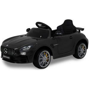 Mercedes elektrische kinderauto GTR zwart
