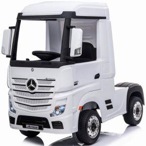 Mercedes elektrische kindervrachtwagen Actros wit