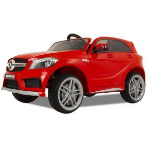 Mercedes elektrische kinderauto A45 rood