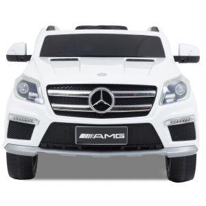 Mercedes GL63 AMG kinderauto wit zijspiegels voorlichten