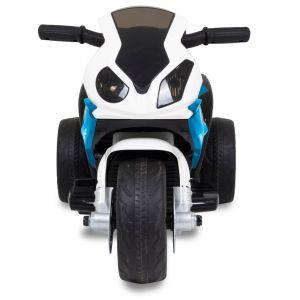 BMW kindermotor mini blauw