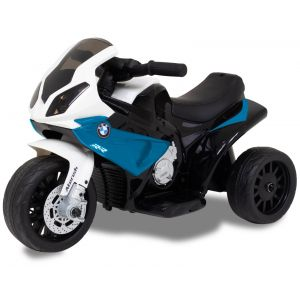 BMW elektrische kindermotor mini blauw