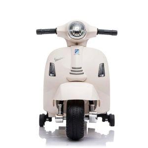 Mini vespa elektrische kinderscooter wit