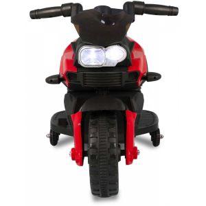 Kindermotor mini rood vooraanzicht