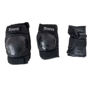 Move skatebescherming 3-delig zwart