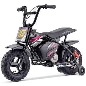 Outlaw elektrische kindermotor 24V - 250W roze