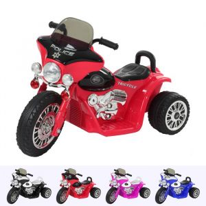 Kijana elektrische kindermotor Wheely rood