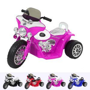 Kijana elektrische kindermotor Wheely roze