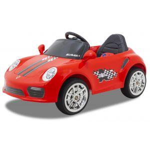 Kijana elektrische kinderauto Porsche style rood