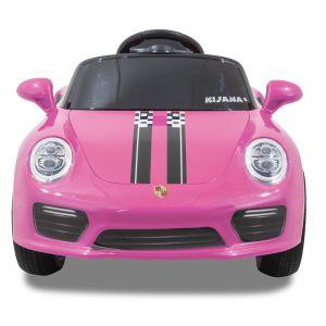 Kijana elektrische kinderauto Porsche style roze