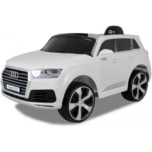 Audi elektrische kinderauto Q7 wit