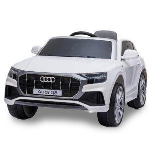Audi elektrische kinderauto Q8 wit