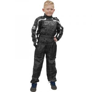Wulfsport Junior Cub racing suit overall - zwart