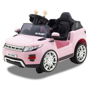 Kijana elektrische kinderauto Evoque style roze