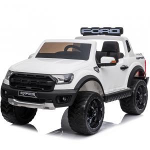 Ford elektrische kinderauto Raptor wit