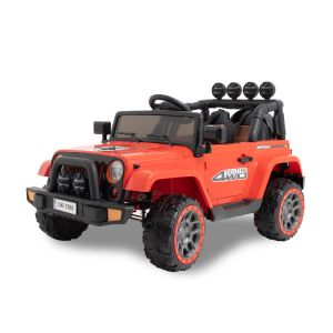 Kijana elektrische kinderauto Jeep rood