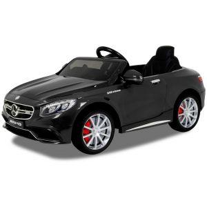 Mercedes elektrische kinderauto S63 AMG zwart