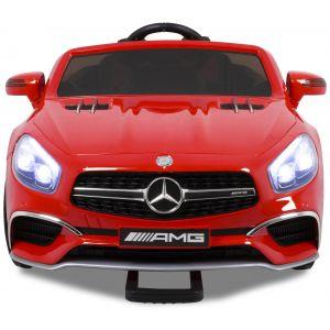 Mercedes SL65 AMG kinderauto rood voorlichten