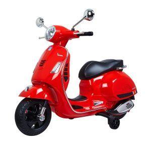 Vespa elektrische kinderscooter GTS rood