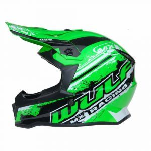 Wulfsport kinderhelm Junior Cub Off Road Pro - groen