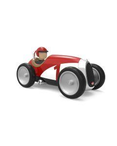 Baghera Retro speelgoedauto Racer rood