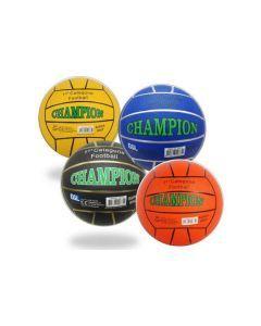 Straatvoetbal Champion - Rubber - maat 5 - 380-420 gram - Verschillende Kleuren - Assorti