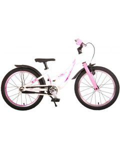 Volare Glamour Kinderfiets Meisjes 18 inch Parelmoer Roze Prime Collection