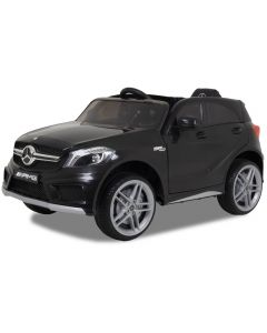 Mercedes elektrische kinderauto A45 zwart