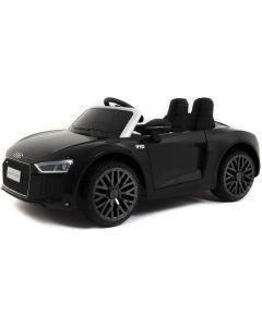 Audi elektrische kinderauto R8 cabrio zwart
