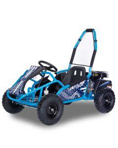 Kijana Outlaw buggy 98cc 4-takt motor blauw
