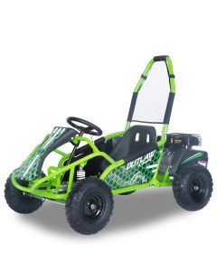 Kijana Outlaw buggy 98cc 4-takt motor groen