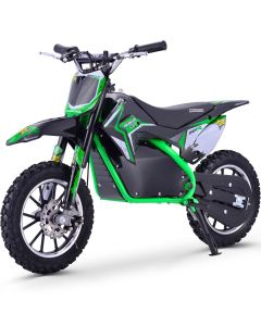 Kijana outlaw crossmotor 500W 9.0AH groen