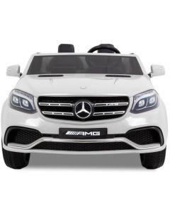 Mercedes elektrische kinderauto GLS AMG wit
